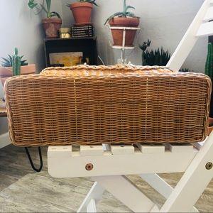 Vintage Bags - 💎VINTAGE basket bag